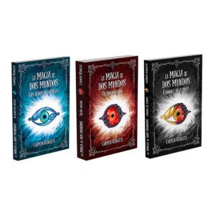 pack trilogía la magia de dos mundos