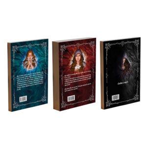 contraportada pack trilogía la magia de dos mundos